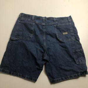 Vintage Wrangler Jean Shorts Carpenter Size 42